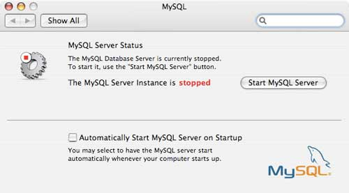 Having problems starting the MYSQL engine?