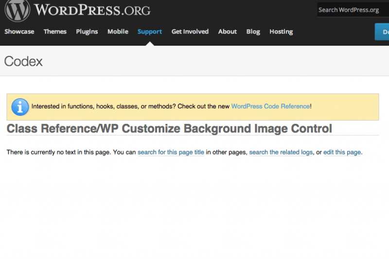 Wordpress Theme Customier Background Image Control